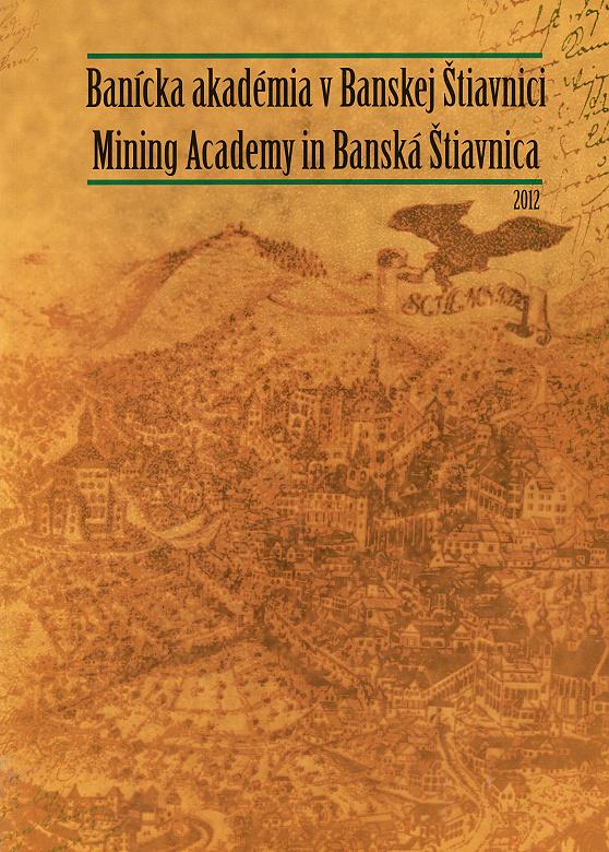 Banícka akadémia v Banskej Štiavnici, Ján Novák a kol., 2012,
